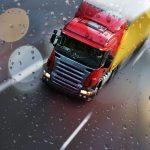 camión lluvia