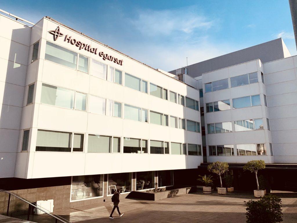 Hospital egarsat fachada